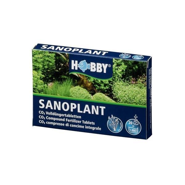 CO2 en tabletas para un crecimiento vegetal sano y vigoroso SANOPLANT