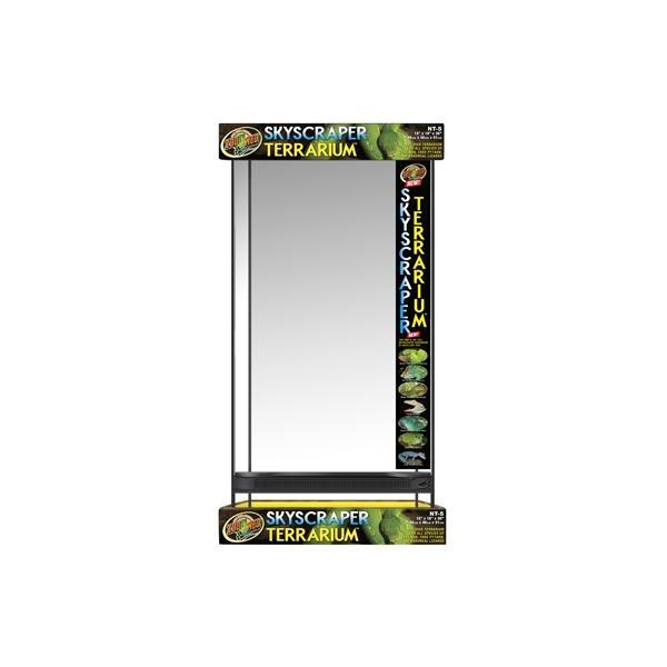 Terrario de cristal con altura extra SKYSCRAPER