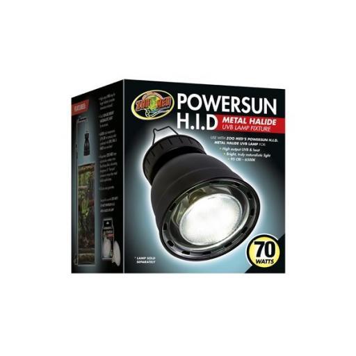 Soporte para lámpara de halogenuro metálico POWERSUN HID 70w [0]