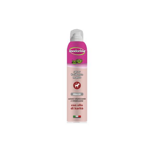 Spray abrillantador para perros y gatos con filtro UV a base de aceite de karité