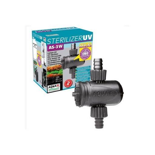 Esterilizador para acuarios de pequeño tamaño AS