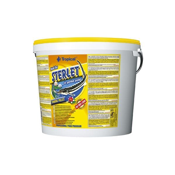 Alimento granulado para esturiones STERLET 5 litros