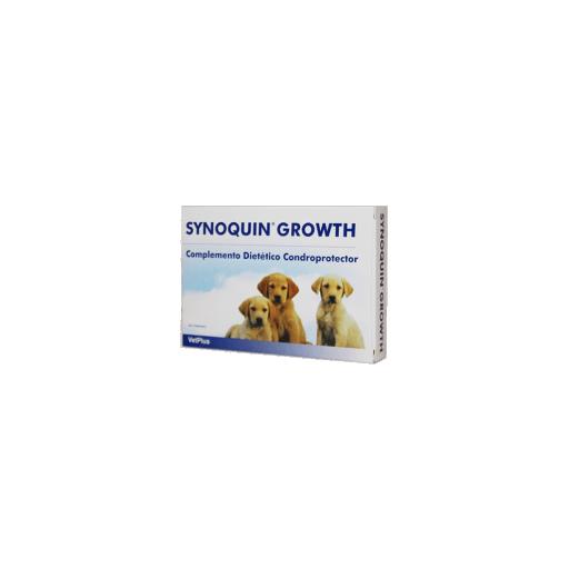 Suplemento nutricional para el correcto desarrollo articular de perros en crecimiento SYNOQUIN GROWNTH