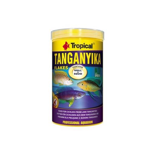 Alimento en escamas para peces del lago TANGANYIKA 1 litro [0]