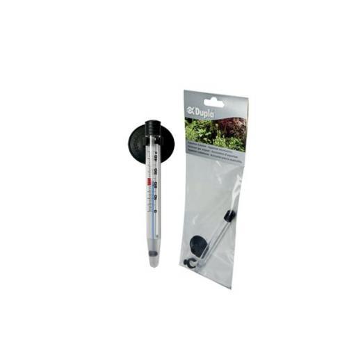Termómetro de plástico sin mercurio con ventosas y pinzas