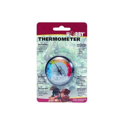 Termómetro analógico para terrarios HOBBY