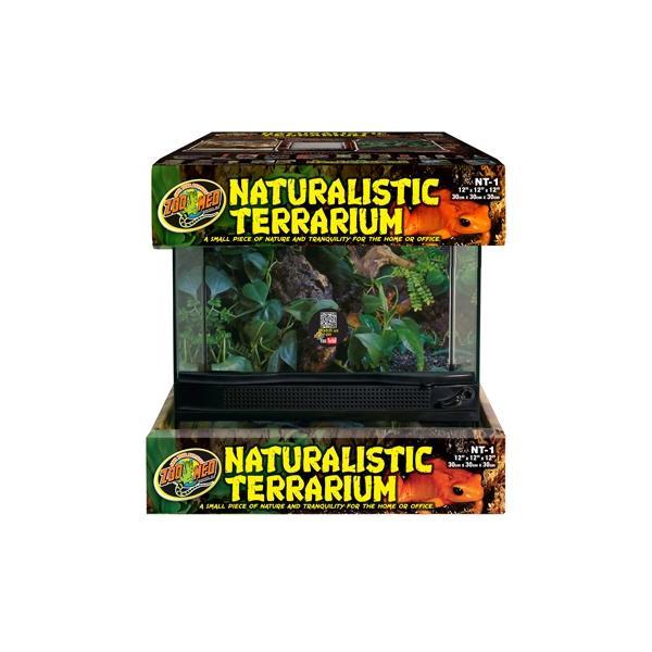 Terrario de cristal para reptiles NATURALISTIC