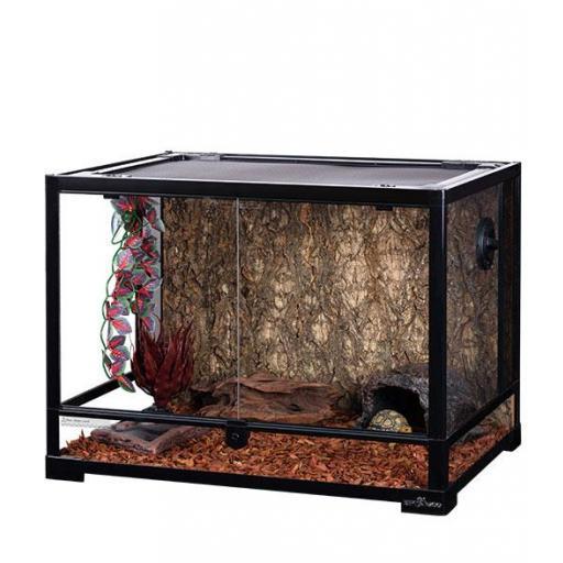 Terrario desmontable para reptiles