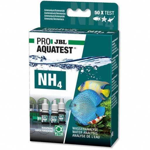 Test de armonio para acuarios y estanques JBL PROAQUA TEST NH4