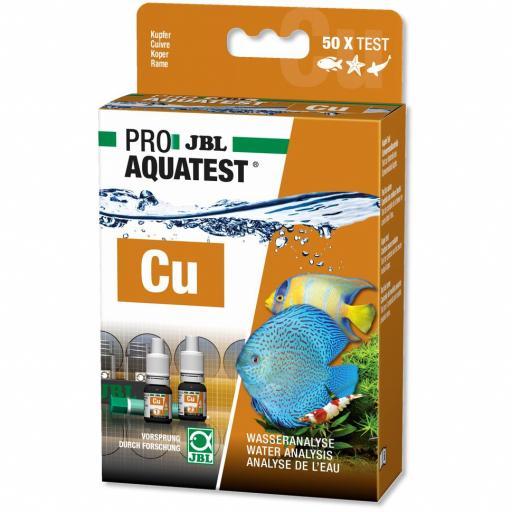 Test de cobre para acuarios de agua dulce y marinos JBL PROAQUA TEST CU