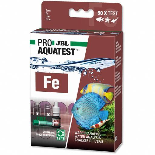 Test de hierro para acuarios y estanques JBL PROAQUA TEST FE