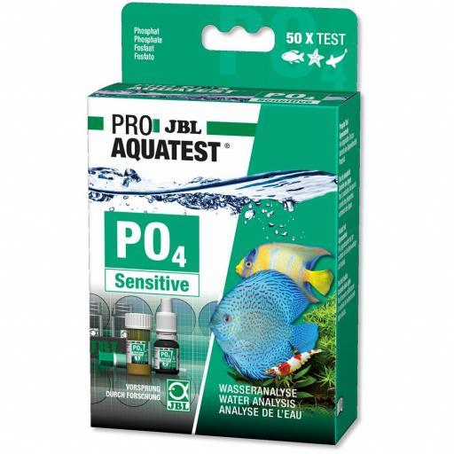 Test rápido para medir las concentraciones de fosfatos en acuarios y estanques JBL PROAQUA TEST PO4