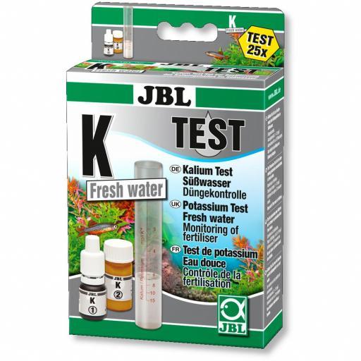 Test de potasio para acuarios de agua dulce JBL TEST K
