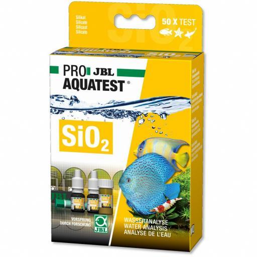 Test de silicatos para acuarios y estanques JBL PROAQUA TEST SiO2