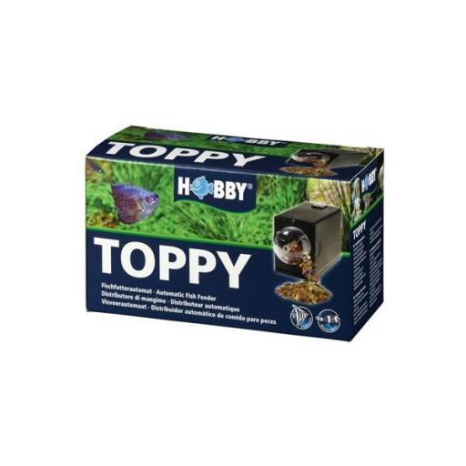 Distribuidor automático de comida para peces TOPPY