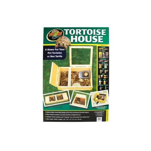 Tortuguera de madera para tortugas de tierra TORTOISE HOUSE [0]