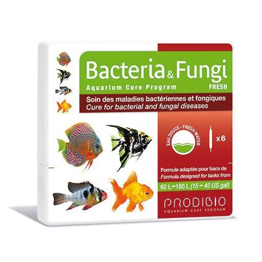 Tratamiento contra bacterias y hongos en acuarios de agua dulce PRODIBIO