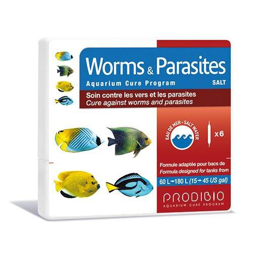 Tratamiento contra parasitos en acuarios de agua salada PRODIBIO