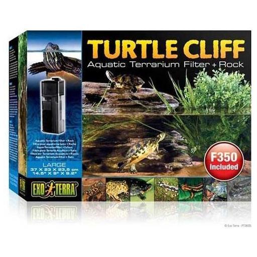Roca con filtro para tortugueras TURTLE CLIFF de EXOTERRA [0]