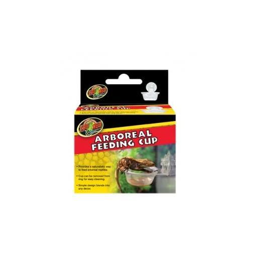 Vasitos para la alimentación de reptiles arboricolas ZOOMED