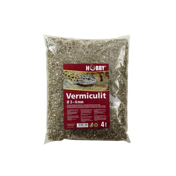 Sustrato a base de vermiculita para la incubación de huevos de reptil