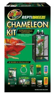 Terrario de malla completo para camaleones REPTIBREEZE CHAMALEON KIT