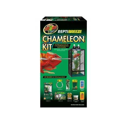 Terrario de malla completo para camaleones REPTIBREEZE CHAMALEON KIT [0]