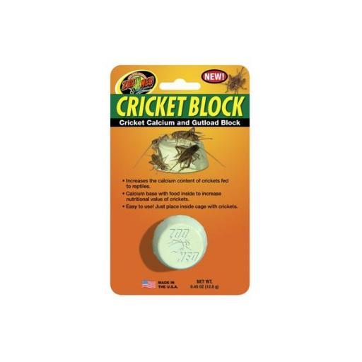 Suplemento de calcio para suministrar a los grillos CRICKET BLOCK