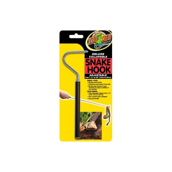 Gancho para ayudar en el manejo de reptiles