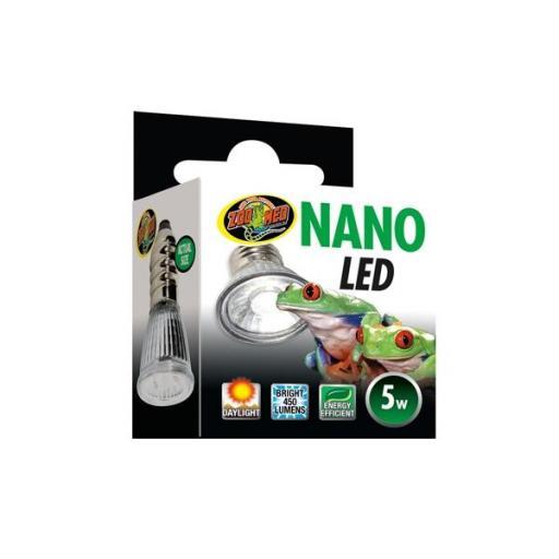 Luz diurna para terrarios de pequeñas dimensiones NANO LED 5w