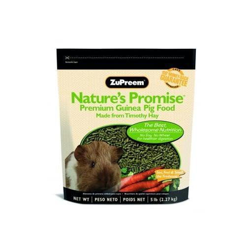 Alimento completo para cobayas en pellets