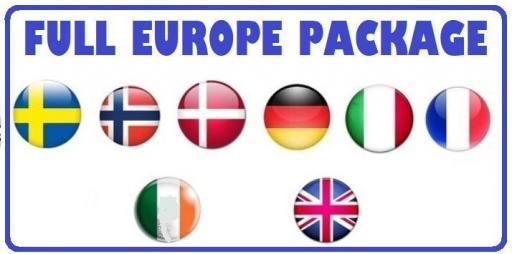 IPTV FULL EUROPE PACKAGES