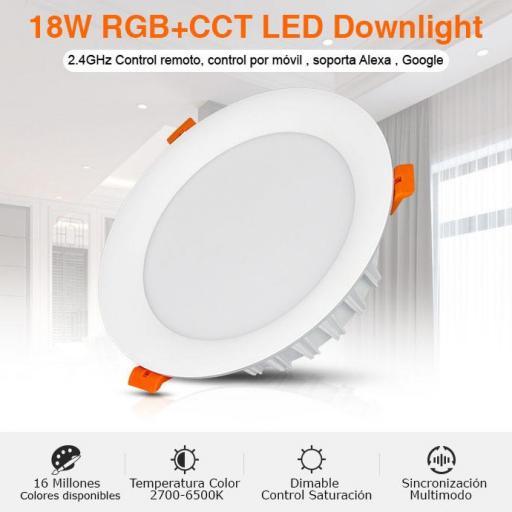 Downlight 18w RGB+CCT [1]