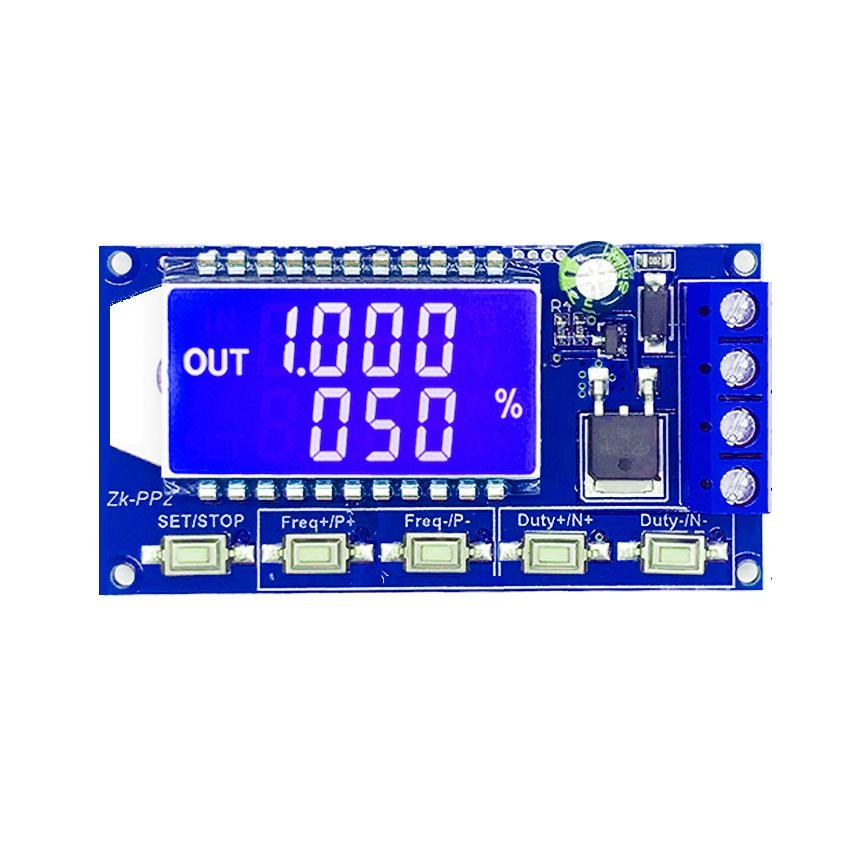 Modulador PWM. 3,3V-30VDC. 1-150Khz. 8A Max. Parametrizable.