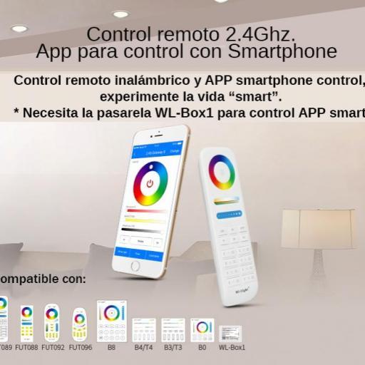 Downlight  9w RGB+CCT ,control remoto, app comp Alexa. [2]