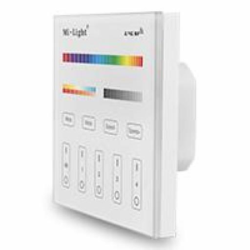 T4 Mi-light control remoto  4 zonas RGB + CCT