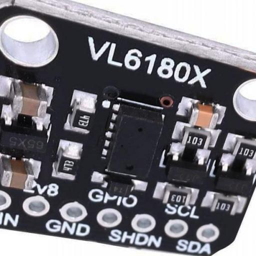 Modulo VL6180X. Sensor de distancia basado en Time of Fly. TOF. distancia: 5 a 200mm.