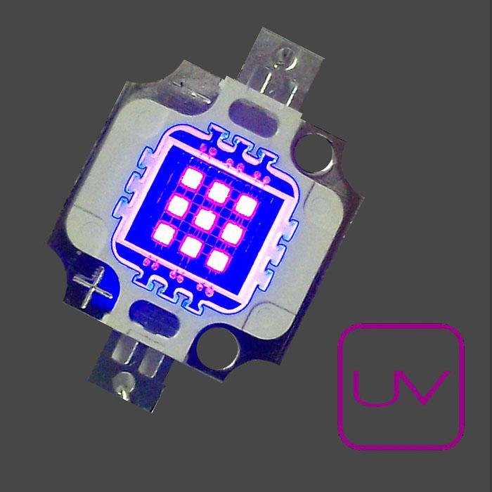U.V. Power 390nm . Emisor de Rayos Ultravioleta. Chip On Board.