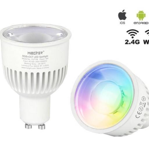 Bombilla GU10 RGB+CCT milight-miboxer [2]