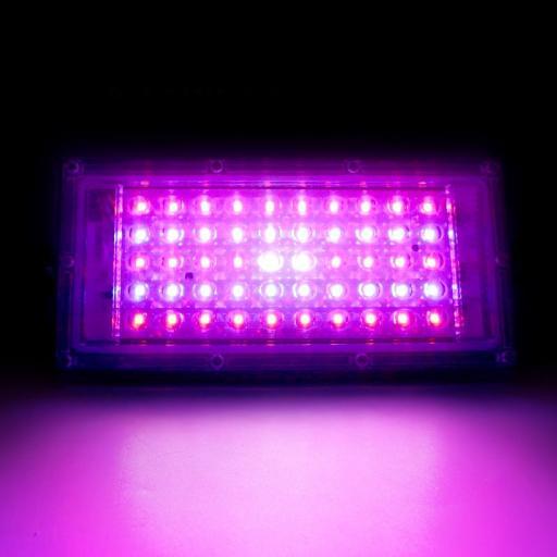 LED Quantum de crecimiento.  50W. 220VAC. [2]