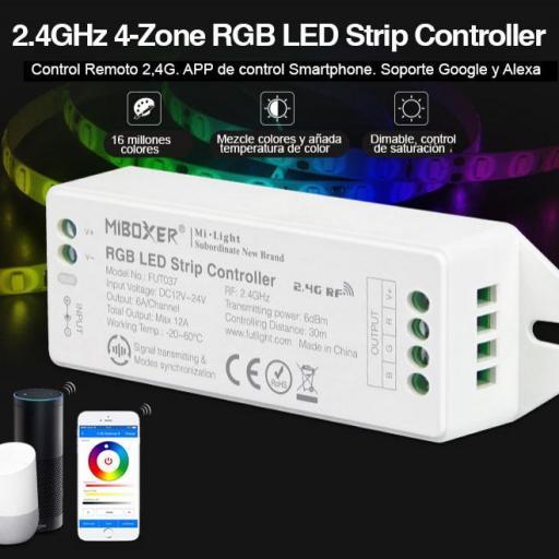 Nuevo V2.0 RGB Controlador de tiras LED [1]