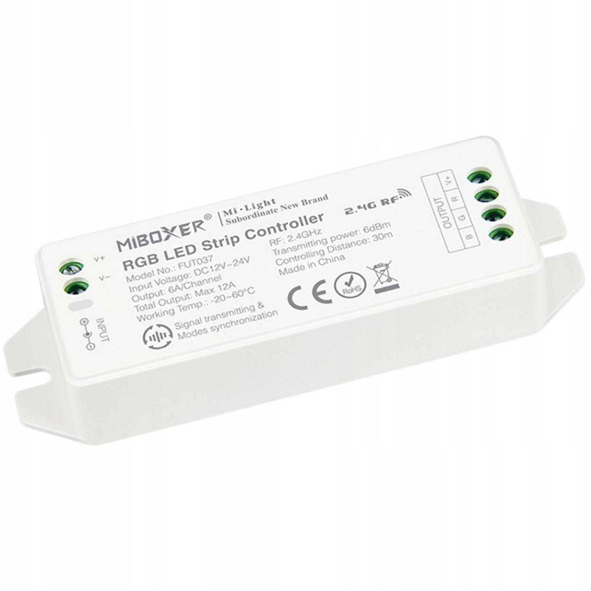 Nuevo V2.0 RGB Controlador de tiras LED