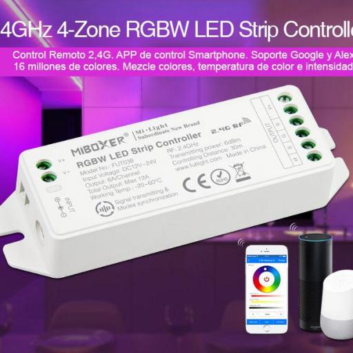 Nuevo V2.0 RGBW Controlador de tiras LED [1]