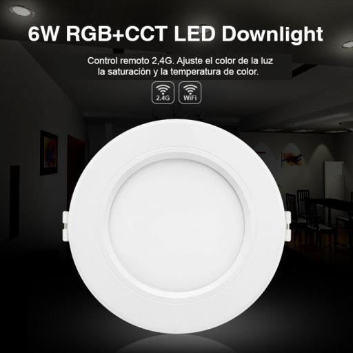6W. Downlight  LED RGB+CCT  [1]