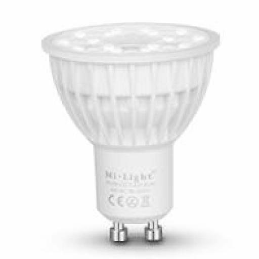 Mi-light GU10 Bombilla RGB + CCT