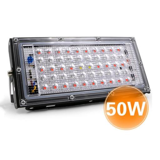 LED Quantum de crecimiento.  50W. 220VAC. [0]