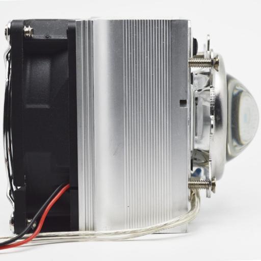 Motor LED de Luz Negra. 50W. Completo con ventilador y fuente de control. [1]