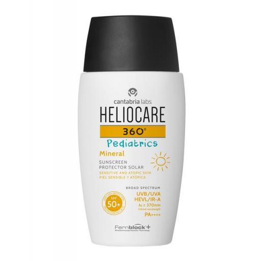 HELIOCARE 360 PEDIATRICS MINERAL 50+SPF 50ML