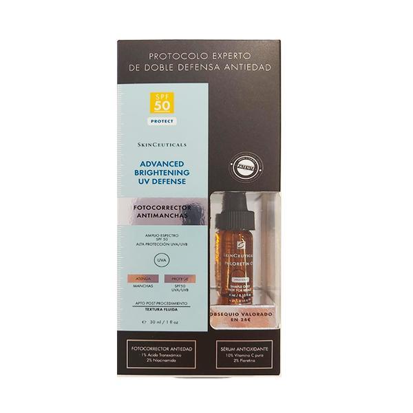 SkinCeuticals Advanced Brightening UV Defense SPF50, 40 ml + REGALO