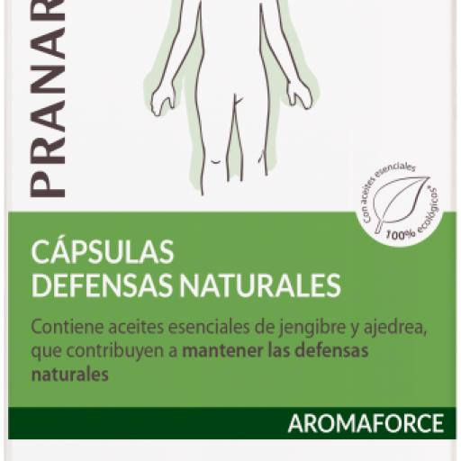 AROMAFORCE DEFENSAS NATURALES  30 CAPSULAS PRANAROM